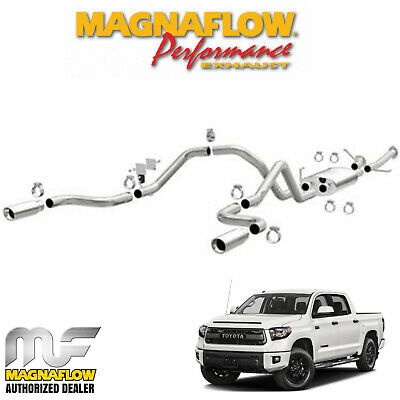 """Magnaflow 2.5"""" Cat Back Dual Exhaust System 2014-2018 Toyota Tundra 4.6L V8"""
