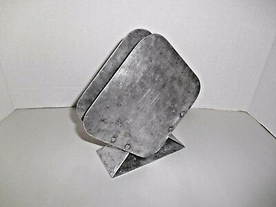 Vintage Industrial Style  Tin / Metal Shop  Napkin Holder
