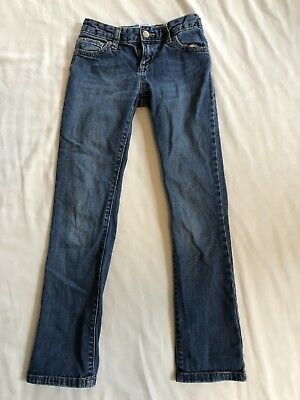 8 Jeans Old Navy Skinny Girls Boys Unisex Denim Blue Pants Trousers Kids Youth