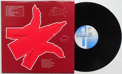 "Red Hot Chili Peppers ‎- Higher Ground 12"" UK 1990 PUNCH OUT PEPPER MODEL SLEEVE"