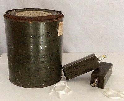 1967 Vietnam Era 2 signals for the U.S. Army in Original Can   ( REDUCED )