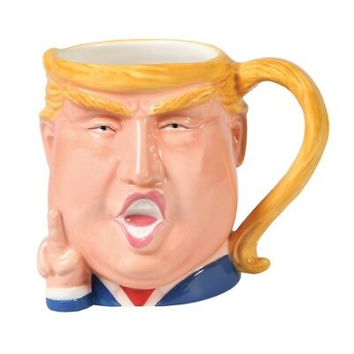 Donald Trump Head - 3D Shaped Mug - 16 Ounces