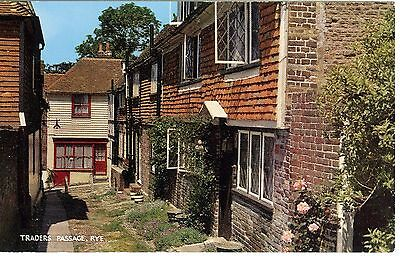 Traders Passage, Rye Sussex England Vintage Postcard Uncirculated Ex. Cond.