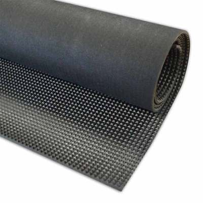 6mm Solid Commercial Rubber Flooring Matting for Shop Garage Van or Car Roll Mat