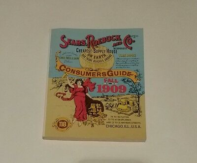 Sears Roebuck And Co Consumers Guide Fall 1909 Catalog 1979 Reproduction