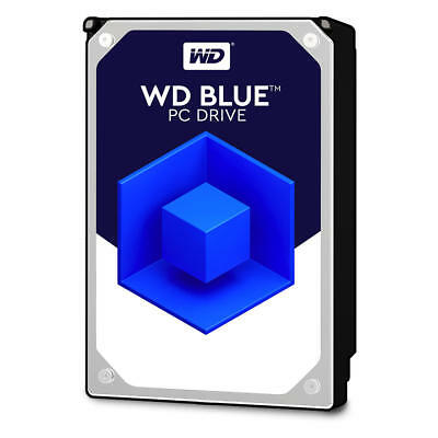 WD Blue 3.5 inch Internal Desktop Hard Drive 1TB/2TB/3TB/4TB/6GB SATA3 2 Years
