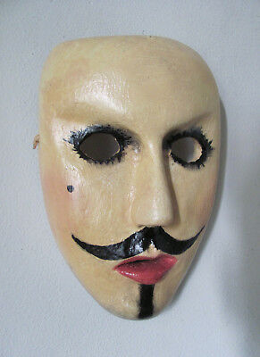 "Mexican mask ""CATRIN"" by Juvenal"