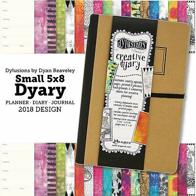Dylusions Creative Dyary - Small 5x8 Journal Diary - 2018 Release