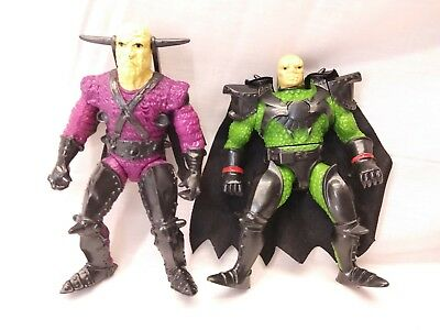Mattel King Arthur & Knights of Justice, WARLORD SLASHER and WARLORD VIPER