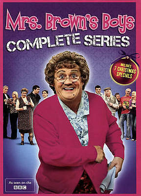Mrs Brown's Boys: Complete Series 1-3+ CHRISTMAS CRACKERS,FREE SHIPPING,NEW.