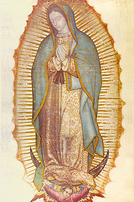 Our Lady Of Guadalupe Poster Art Silk Poster 36x24 Print