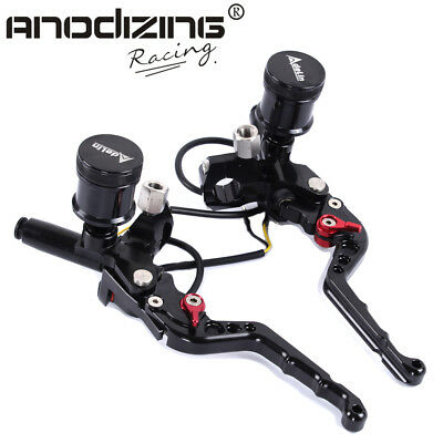 """Motorcycle 7/8"""" Adelin Front Brake Clutch Hydraulic Master Cylinder Lever"""