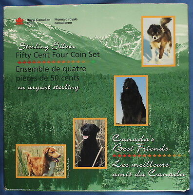Canada 1997 - Canada's Best Friends - Sterling Silver Proof Set