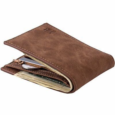 Baborry Men's Luxury Business Wallets  Card Holder Man Purse Gift NEW XX