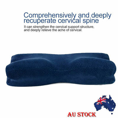 Neck Back Support Memory Foam Pillow Orthopaedic Sleep Head Bedroom Home Contour