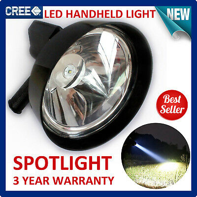 700W CREE T6 Handheld Spot Light Rechargeable LED Spotlight Hunting Shooting 12V