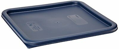 Cambro SFC12453  CamSquares Midnight Blue Polyethylene Lid for 12 qt, 18 qt and