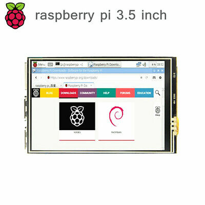 New 3.5 inch TFT LCD 320*480 Touch Screen Display Module for Raspberry Pi 3 2 B+