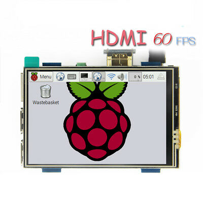 "New 3.5"" HDMI LCD Display Touch Screen for Raspberry Pi 3 2 3 Model B+"