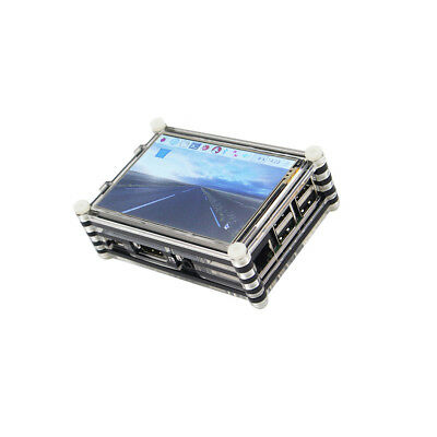 "3.5"" LCD Display Touch Screen Kit With Case & Heatsink for Raspberry Pi 3 Pi 2"