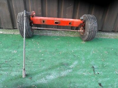 Westwood Ride on Mower Front Axle Stub wheel Rims 13 X 5.00 - 6 Tyres, T1200