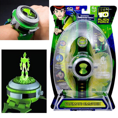 Ben 10 ultimate alien force Omnitrix Watch Illuminator Lights & Sound Watch Toy