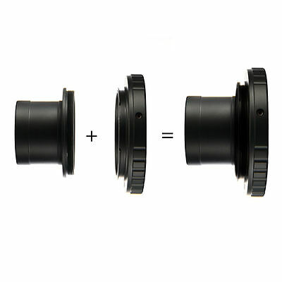 "1.25"" Telescope Mount + T T2 Lens Adapter for Nikon DSLR Camera D7100 D800 DC616"
