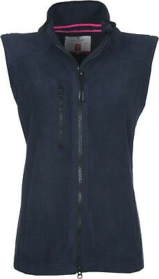 Gilet Donna Micropile Zip Lunga Easy+ Lady Payper Anche Con Ricamo O Stampa