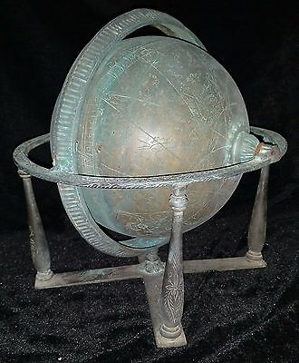 Ottoman Persian Globe - Astronomical / Astrological Instrument