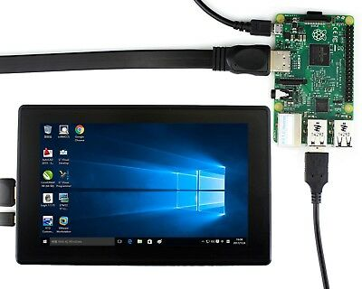 1024x600 7inch HDMI LCD IPS Capacitive Touch Screen Supports Windows 10/8.1/8/7