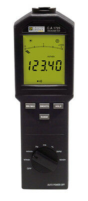 CHAUVIN ARNOUX CA1725 Tachometer industrial, contact/non contact, 100,000 rpm