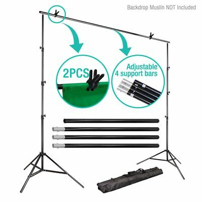 10Ft Adjust Background Support Stand Photo Video Backdrop Kit Photography MA