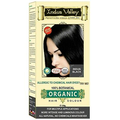 Indus Valley Indus Black Hair Colour For Grey Hair Coverage