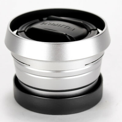 Fujifilm WCL-X100 II Wide Conversion Lens for X100 Series - Silver << Mint >>