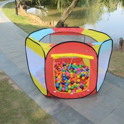 NEW Toys Balls Kids Baby Playpen Ball Pool Pit Tent Play Games Bounce House MX