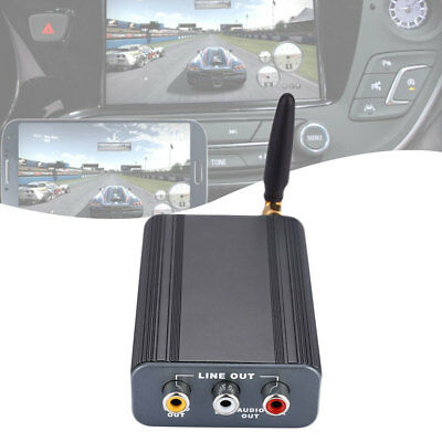 Car Auto 12V 2.4GHz Wifi Miracast Screen Mirroring Box For IOS Android Display