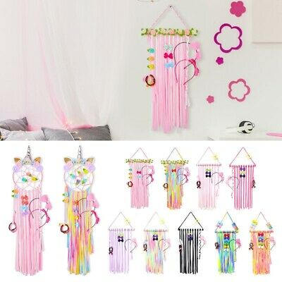 "22"" Girs Baby Kid Hair Bow Holder Hanger Hair Clips Storage Organizer Home Décor"