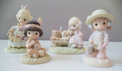 Precious Moments (with boxes) - lot of 4