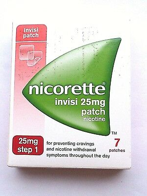 Nicorette Invisi 15mg Patch - Step 1 - 7 Patches