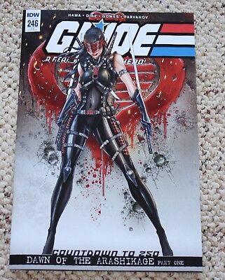 G.I. JOE 246 JAMIE TYNDALL FEMALE SNAKE-EYES VARIANT 1st APPEARANCE SOLD OUT!