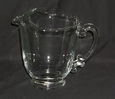 "Fostoria CENTURY CRYSTAL *7 1/8"" 48oz PITCHER w/ICE LIP*"