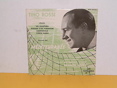 "Single 7"" - Tino Rossi - Mediterranee - Ep"