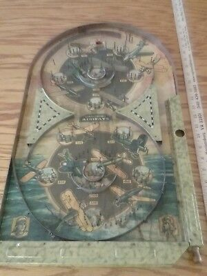 antique lindstroms airways game airplane pinball