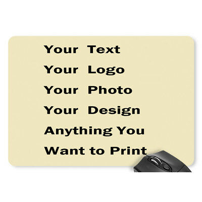 Custom Printed Mouse Pad Personalized Photo Images Company Logo Design Mice Mat