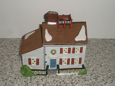 DEPT 56 NEW ENGLAND VILLAGE  JEREMIAH BREWSTER HOUSE  #5657-0 Year 1995