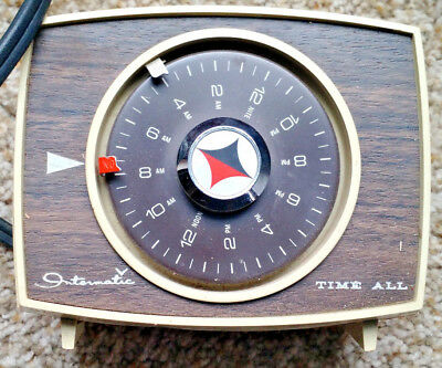 Vintage Intermatic Timer Time All Lamp and Appliance Timer Model B411