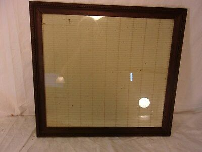 ANTIQUE DEEP Well Large Gold Graduated Picture Frame Mirror Heavy ...