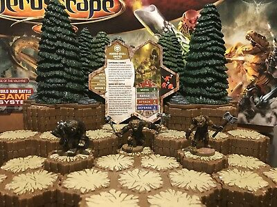 Heroscape - Wave 13/D3, Moltenclaw's Invasion: Horned Skull Brutes