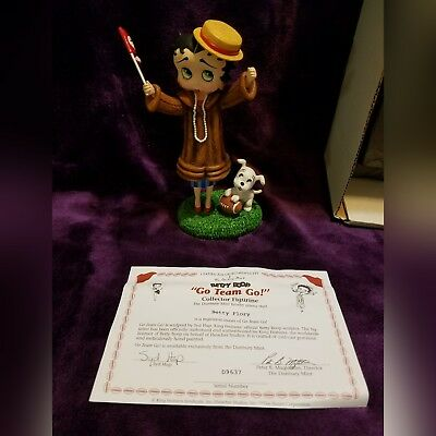 Betty Boop Danbury Mint Collector Figurines Moonglow & Glamour Girl