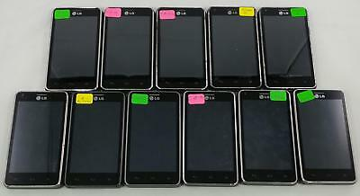 Lot of 11 LG Mach LS860 Sprint QWERTY Android Smartphone Cellphone BULK 267